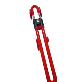 Paw Steering Wheel Lock Red-SehgalMotors.Pk