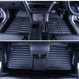Toyota Prado 5D Floor Mat Black - Model 2009-2017