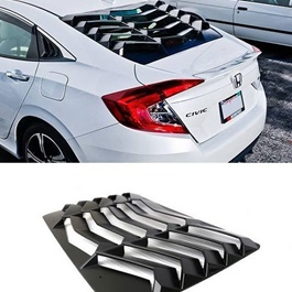 Honda Civic Louver Back Screen Rack Evo Style - Model 2016-2019-SehgalMotors.Pk