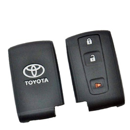 Toyota Prius Key cover PVC / Silicone Protection Key Cover Model 2016 - 2017 | Full Cover Remote Case Keyless Protector Jacket | Silicone Key Case