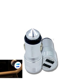 Maximus Bullet Style 3.1A Car Mobile Charger -SehgalMotors.Pk