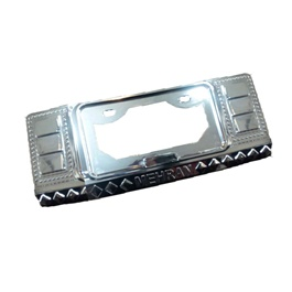 Suzuki Mehran Chrome Number Plate Frame | Number plate Holder | Car License Plate Frame | Iicense Plate Holder Frame-SehgalMotors.Pk