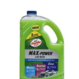 Turtle 50597 Max Power Car Wash 2.95L | Car Shampoo | Car Cleaning Agent | Car Care Product | Glossy Touch Shampoo | Mirror Like Shine-SehgalMotors.Pk