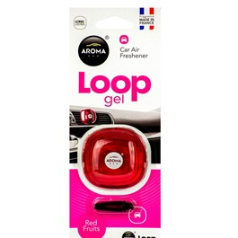 Aroma Car Air Freshener Car Perfume Fragrance Loop Gel Red Fruits