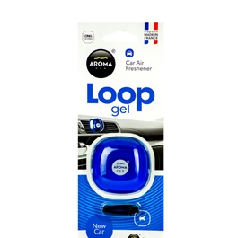 Aroma Car Air Freshener Car Perfume Fragrance Loop Gel New Car	-SehgalMotors.Pk