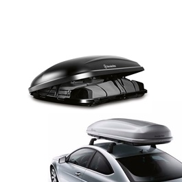 Mercedes Benz Roof Box Black and Gray	-SehgalMotors.Pk