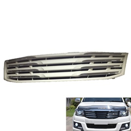 Toyota Hilux Vigo Champ Chrome White grille - Model 2005-2016-SehgalMotors.Pk