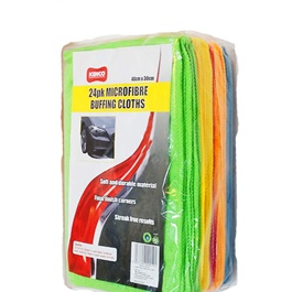 Kenco Microfiber Buffing Cloths 24 Pcs -SehgalMotors.Pk
