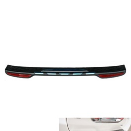 Toyota Corolla Trunk Bumper Protector With Reflector - Model 2017-2019-SehgalMotors.Pk