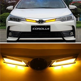 Toyota Corolla Led Grille - Model 2016-2018-SehgalMotors.Pk