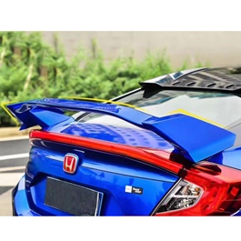 Honda Civic Wing Spoiler Style A - 2016-2021 | Trunk Spoiler | Baggage Spoiler Decorative Cover-SehgalMotors.Pk