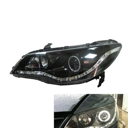Honda Civic Headlight / Head Lamp Projection Smoke V2  - Model 2006-2012