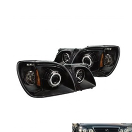 Lexus LX470 Eagle Eye Style Headlight Projection Black Taiwan-SehgalMotors.Pk