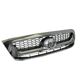 Toyota Hilux Vigo Horizontal Full Chrome grille - Model 2005-2016-SehgalMotors.Pk