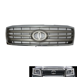Toyota Land Cruiser FJ100 Front Grille Grey Chrome Thailand - Model 1998-2007-SehgalMotors.Pk