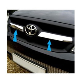 Toyota Hilux Vigo Black Chrome grille - Model 2005-2016-SehgalMotors.Pk