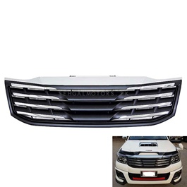 Toyota Hilux Vigo Champ Chrome Grey grille - Model 2005-2016-SehgalMotors.Pk