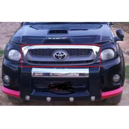 Toyota Hilux Vigo Tiger Chrome Black grille - Model 2005-2016-SehgalMotors.Pk