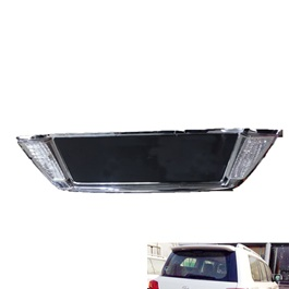 Toyota Prado LED Chrome Rear Trunk Lid Cover - Model 2002-2009-SehgalMotors.Pk