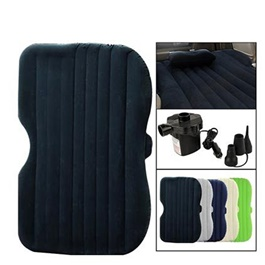 Car Back Seat Air Mattress Portable Air Bed Black | Inflatable Backseat	Bed