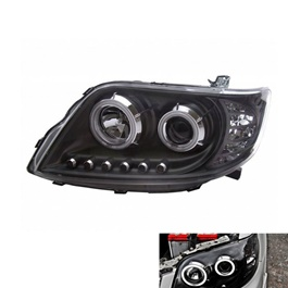 Toyota Corolla X Projection Black Headlight - Model 2006-2012	-SehgalMotors.Pk