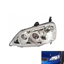 Honda Civic Headlight Crystal - Model 2001-2004	-SehgalMotors.Pk