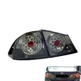 Honda Civic BackLights Full Smoke - Model 2006-2012-SehgalMotors.Pk