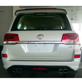 Toyota Prado Body Kit / Bodykit Back Extender - Model 2009-2017	-SehgalMotors.Pk