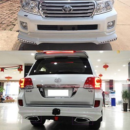Toyota Land Cruiser Complete Body Kit / Bodykit - Model 2007-2015-SehgalMotors.Pk