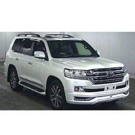 Toyota Land Cruiser Front Extender Chrome White - Model 2015-2017	-SehgalMotors.Pk