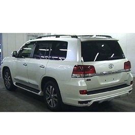 Toyota Land Cruiser Modalista Body Kit Back White - Model 2015-2017	-SehgalMotors.Pk