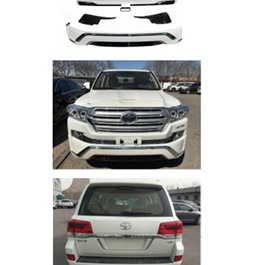 Toyota Land Cruiser Body Kit Front Extender Saudi Style - Model 2007-2015-SehgalMotors.Pk