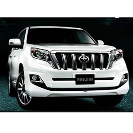 Toyota Prado Body Kit / Bodykit Back Extender Plastic - Model 2009-2019	-SehgalMotors.Pk