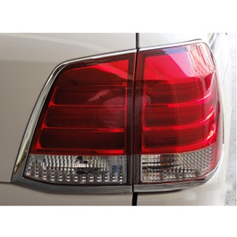 Toyota Land Cruiser BackLights Red and White New Style- Model 2007-2015	-SehgalMotors.Pk