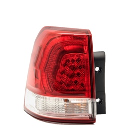 Toyota Land Cruiser BackLights Red and White - Model 2007-2015	-SehgalMotors.Pk