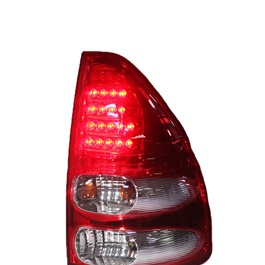 Toyota Prado Back lights Red and White - Model 2002-2009