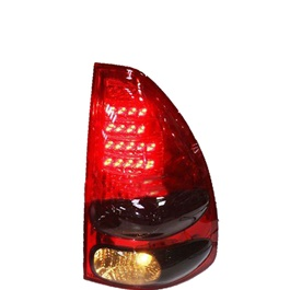 Toyota Prado BackLights Red Smoke Taiwan - Model 2002-2009	-SehgalMotors.Pk