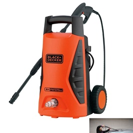 Black & Decker PW1370 Bar Pressure Washer | Heavy Duty Extreme High Pressure Washer | Detailing Washer | Domestic and Commercial Use-SehgalMotors.Pk