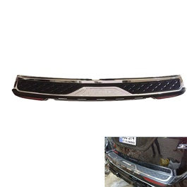Toyota Fortuner Rear Bumper Protector With Reflector - Model 2016-2017-SehgalMotors.Pk