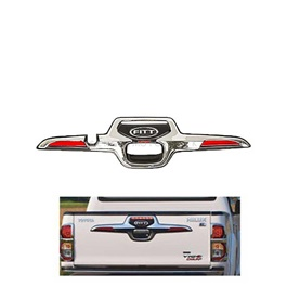 Toyota Hilux Vigo Champ Rear Fitt Garnish Thailand - 2005-2015-SehgalMotors.Pk