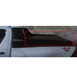 Toyota Hilux Revo Super Lid Roll Bar Black Carryboy- Model 2016-2020-SehgalMotors.Pk