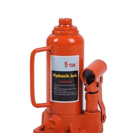 Car Hydraulic Jack With Manual Handle Heavy Duty 5 Ton	-SehgalMotors.Pk
