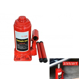 Car Hydraulic Jack With Manual Handle Heavy Duty 10 Ton	-SehgalMotors.Pk