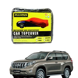 Toyota Prado Custom Maximus Non Woven Scratchproof Waterproof Top Cover - Model 2009-2019-SehgalMotors.Pk