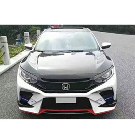 Honda Civic Redline Samurai Style Body Kit / Bodykit - Model 2016-2020-SehgalMotors.Pk