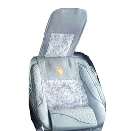 Fur Style Seat Cover Sky Blue-SehgalMotors.Pk