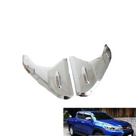 Toyota Hilux Revo Head Lights Chrome Decorative Trim - Model 2016-2019	-SehgalMotors.Pk