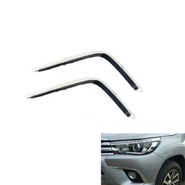 Toyota Hilux Revo Trim Chrome Fog Lamps - Model 2016-2019	-SehgalMotors.Pk