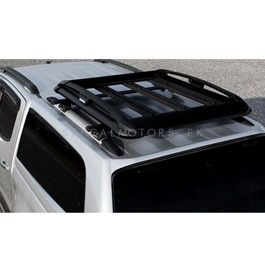 Universal Roof Rack Carrier Black XL Size - Mix Color-SehgalMotors.Pk
