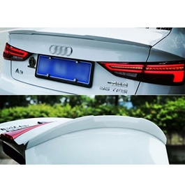 Audi A3 Trunk Lip Spoiler - Model 2012-2017 | Trunk Spoiler | Baggage Spoiler Decorative Cover-SehgalMotors.Pk
